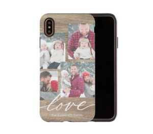 rustic love phone case by shutterfly